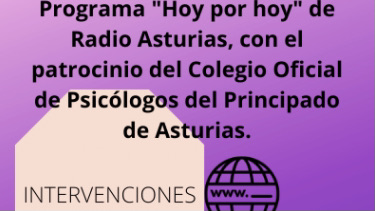 Entrevista a Asunción Tejedor en el programa -Hoy por hoy – de Radio Asturias
